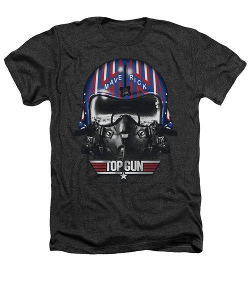 Top Gun - Maverick Helmet Heathers T-Shirt by Brand A