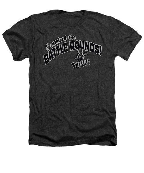 Voice - Battle Rounds Heathers T-Shirt by Brand A