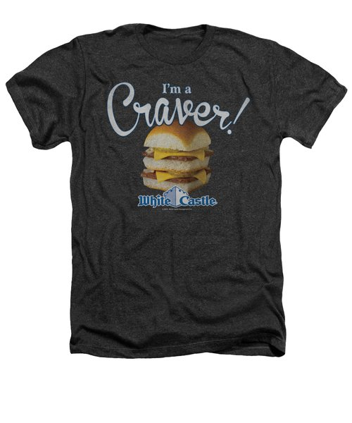White Castle - Craver Heathers T-Shirt by Brand A