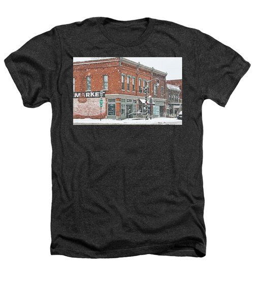 Whitehouse Ohio In Snow 7032 Heathers T-Shirt by Jack Schultz