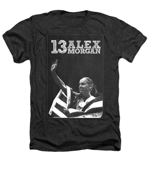 Alex Morgan Heathers T-Shirt by Semih Yurdabak