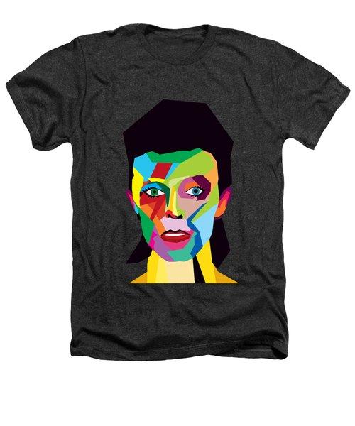 David Bowie Heathers T-Shirt by Mark Ashkenazi