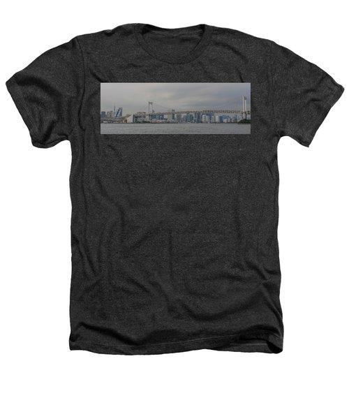Rainbow Bridge Heathers T-Shirt by Megan Martens