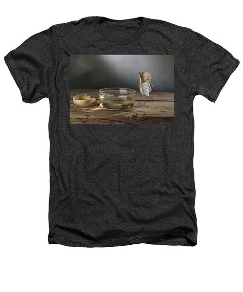 Simple Things - Potatoes Heathers T-Shirt by Nailia Schwarz