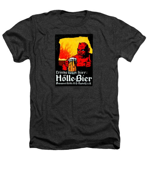 1905 German Beer Poster Heathers T-Shirt by Historic Image