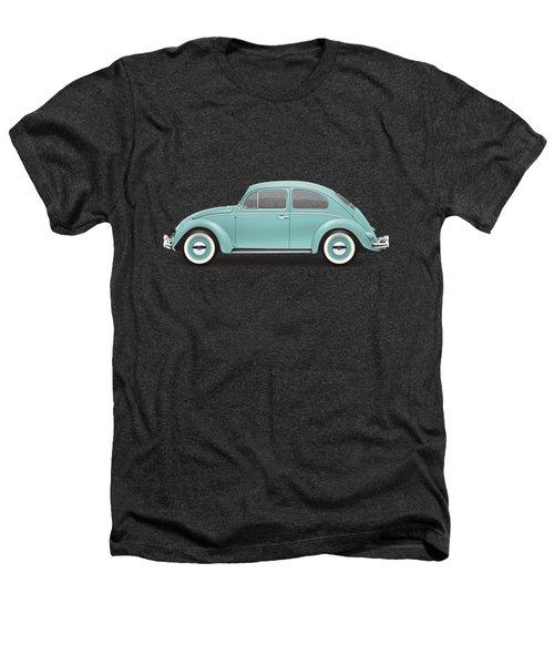 1961 Volkswagen Deluxe Sedan - Turquoise Heathers T-Shirt by Ed Jackson