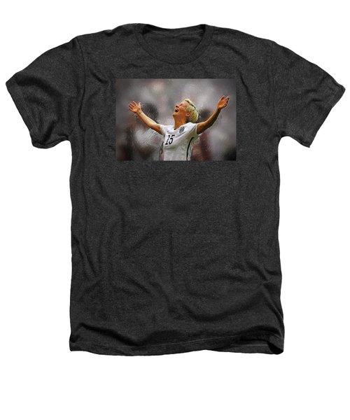 Megan Rapinoe Heathers T-Shirt by Semih Yurdabak