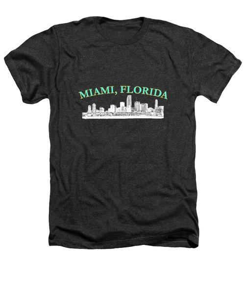 Miami Florida Heathers T-Shirt by Brian's T-shirts