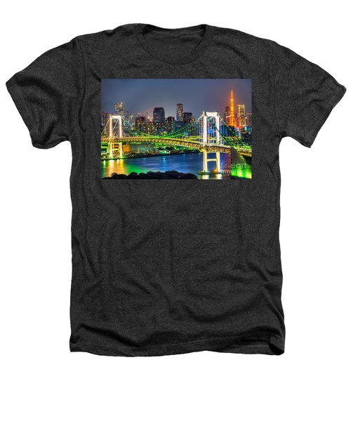 Tokyo - Japan Heathers T-Shirt by Luciano Mortula