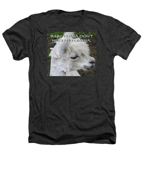 Baby Llama Heathers T-Shirt by Ellen Henneke