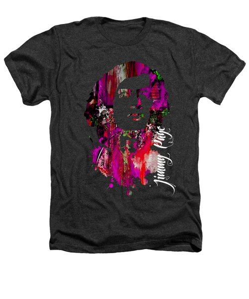 Jimmy Page Collection Heathers T-Shirt by Marvin Blaine