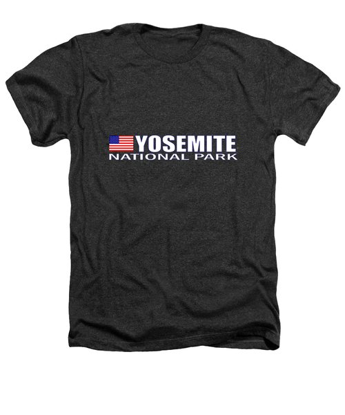 Yosemite National Park Heathers T-Shirt by Brian's T-shirts