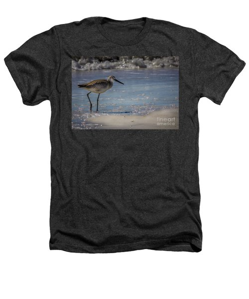 A Walk On The Beach Heathers T-Shirt by Marvin Spates