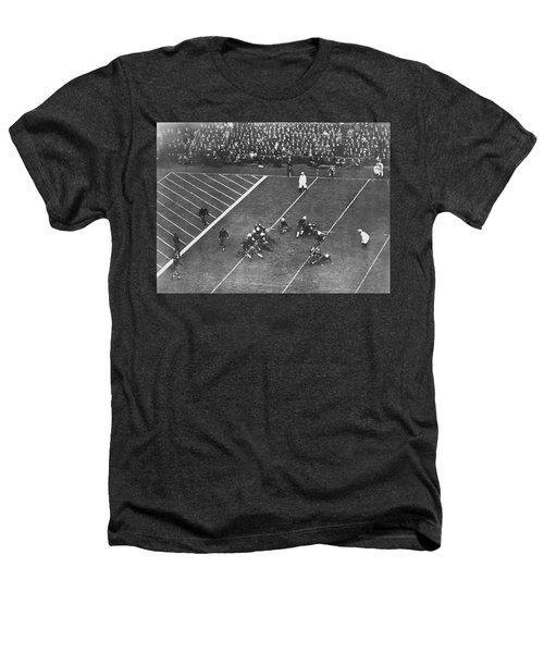 Albie Booth Kick Beats Harvard Heathers T-Shirt by Underwood Archives