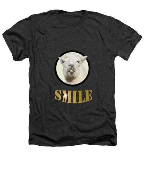 Alpaca Smile  Heathers T-Shirt by Rob Hawkins