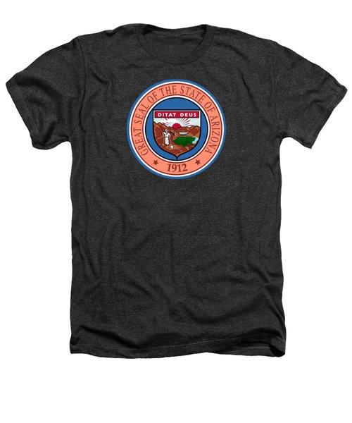 Arizona State Seal Heathers T-Shirt by Movie Poster Prints