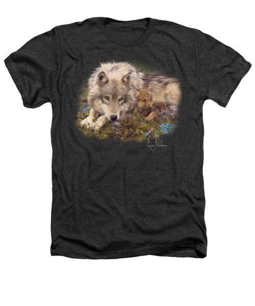 In A Safe Place Heathers T-Shirt by Lucie Bilodeau