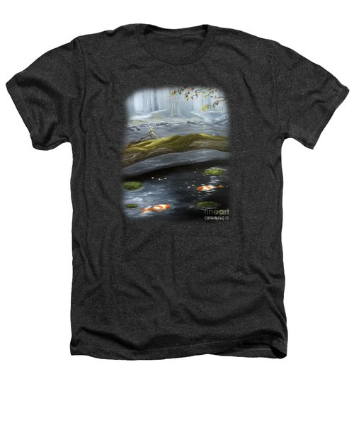 The Wishing Pond  Heathers T-Shirt by Susan  Rossell