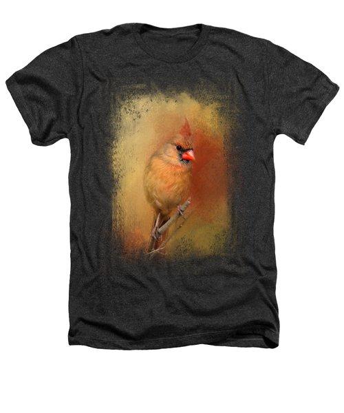 Backyard Jewel Heathers T-Shirt by Jai Johnson