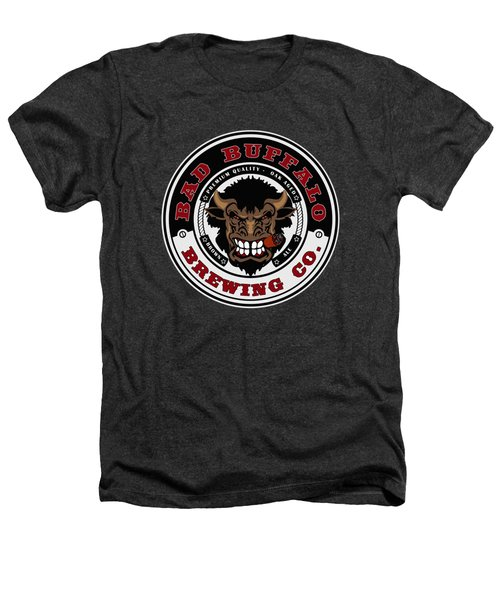 Bad Buffalo Brewing Heathers T-Shirt by Christopher Williams