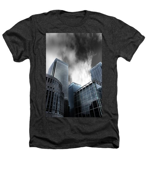 Canary Wharf Heathers T-Shirt by Martin Newman