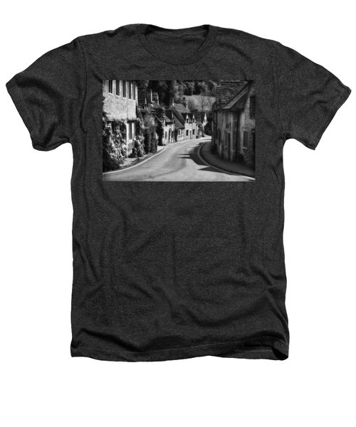 Castle Combe England 2 Bw  Heathers T-Shirt by Mike Nellums