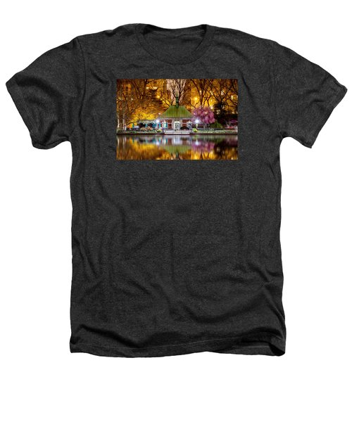 Central Park Memorial Heathers T-Shirt by Az Jackson