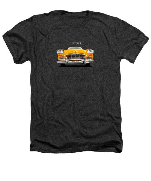 Checker Cab Heathers T-Shirt by Mark Rogan