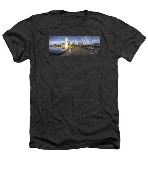 Cleveland Panorama Heathers T-Shirt by James Dean