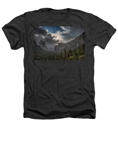 Clouds And Light Heathers T-Shirt by Bill Roberts