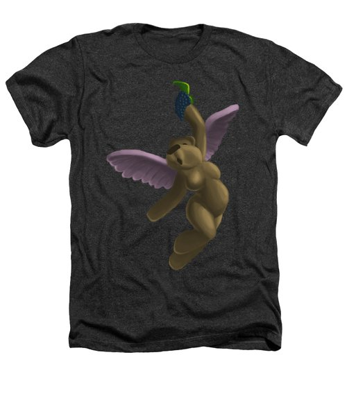 Cupid Bear 4 Heathers T-Shirt by Jason Sharpe