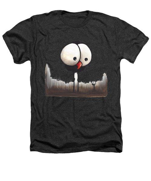Defiant Little Spider Heathers T-Shirt by Lucia Stewart
