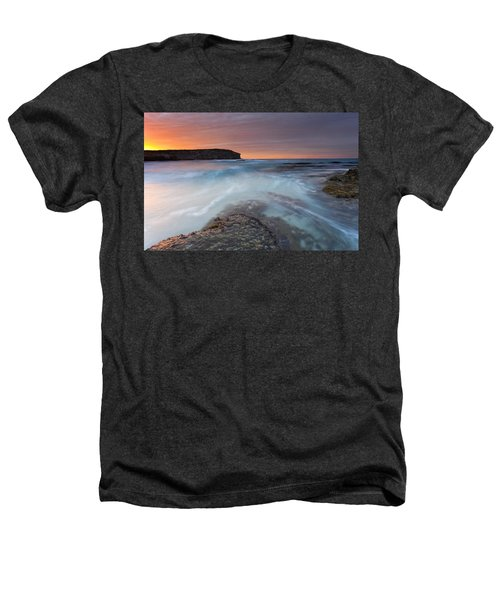 Divided Tides Heathers T-Shirt by Mike  Dawson