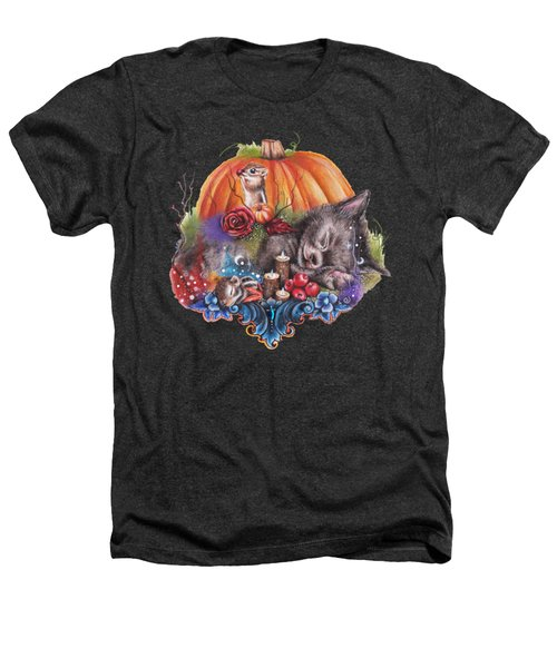 Dreaming Of Autumn Heathers T-Shirt by Sheena Pike