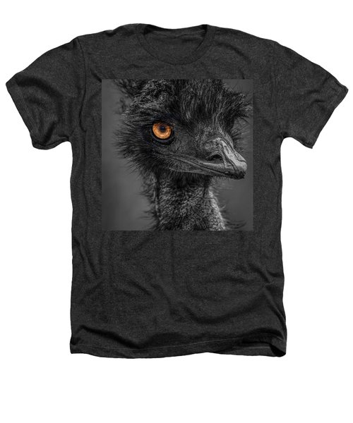 Emu Heathers T-Shirt by Paul Freidlund