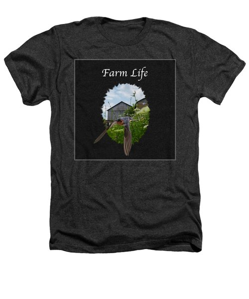 Farm Life Heathers T-Shirt by Jan M Holden