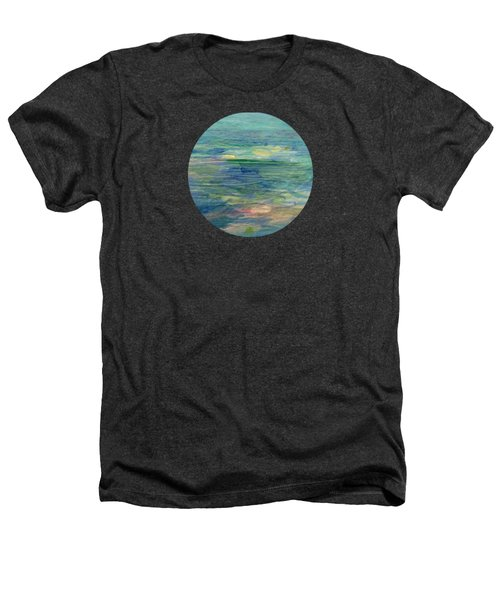 Gentle Light On The Water Heathers T-Shirt by Mary Wolf