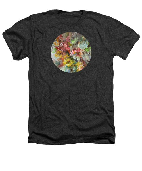 Grace And Beauty Heathers T-Shirt by Mary Wolf
