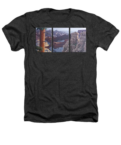 Grand Canyon Dawn Heathers T-Shirt by Jim Thomas