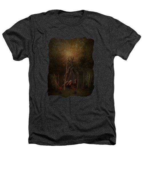 Guardians Of The Forest Heathers T-Shirt by Terry Fleckney