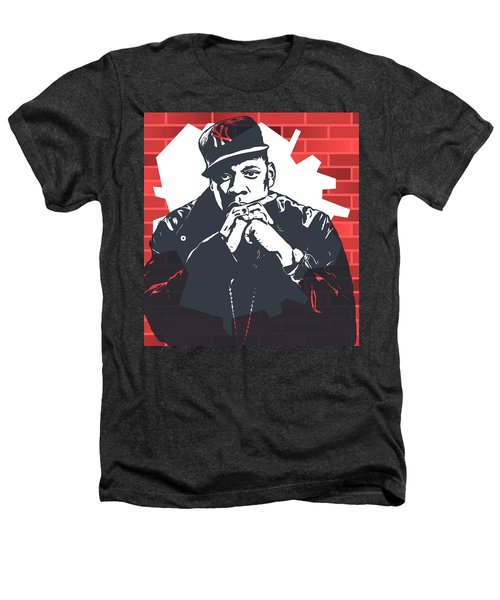 Jay Z Graffiti Tribute Heathers T-Shirt by Dan Sproul
