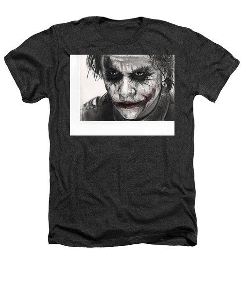 Joker Face Heathers T-Shirt by James Holko