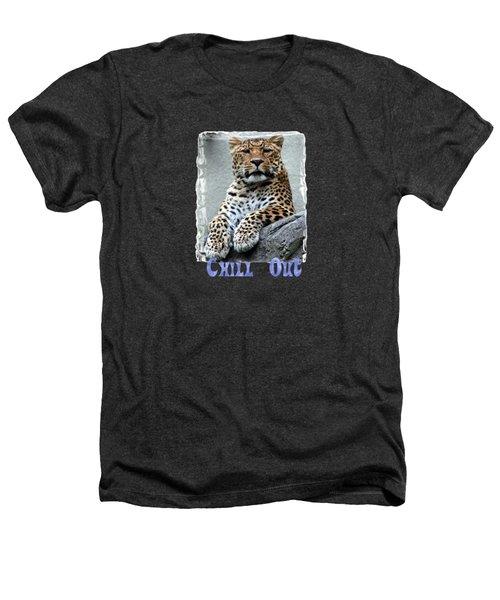 Just Chillin' Heathers T-Shirt by DJ Florek