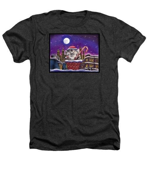 Koala In Chimney Heathers T-Shirt by Remrov