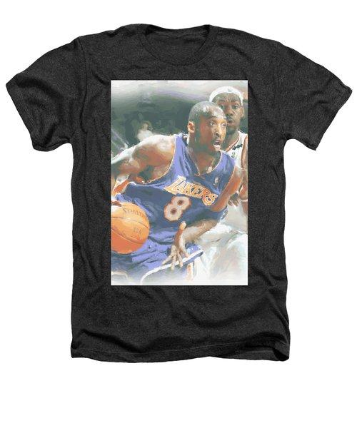 Kobe Bryant Lebron James Heathers T-Shirt by Joe Hamilton