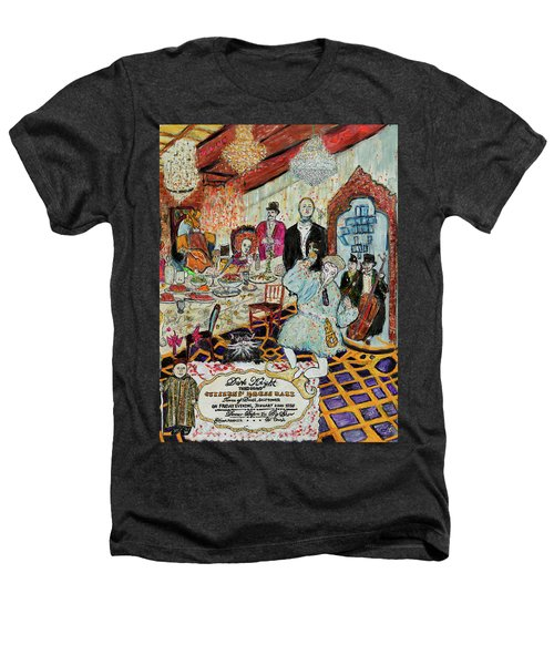 Last Supper, Dark Knight Heathers T-Shirt by Lindsay Strubbe