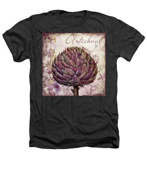Legumes Francais Artichoke Heathers T-Shirt by Mindy Sommers