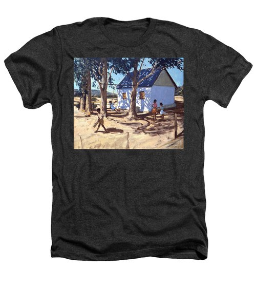 Little White House Karoo South Africa Heathers T-Shirt by Andrew Macara