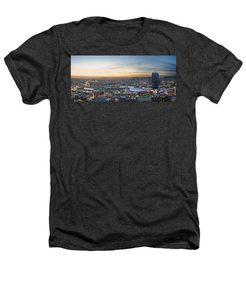 Los Angeles West View Heathers T-Shirt by Kelley King