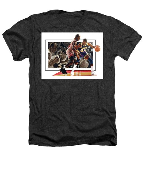 Magicandmike Heathers T-Shirt by Dwayne Lester